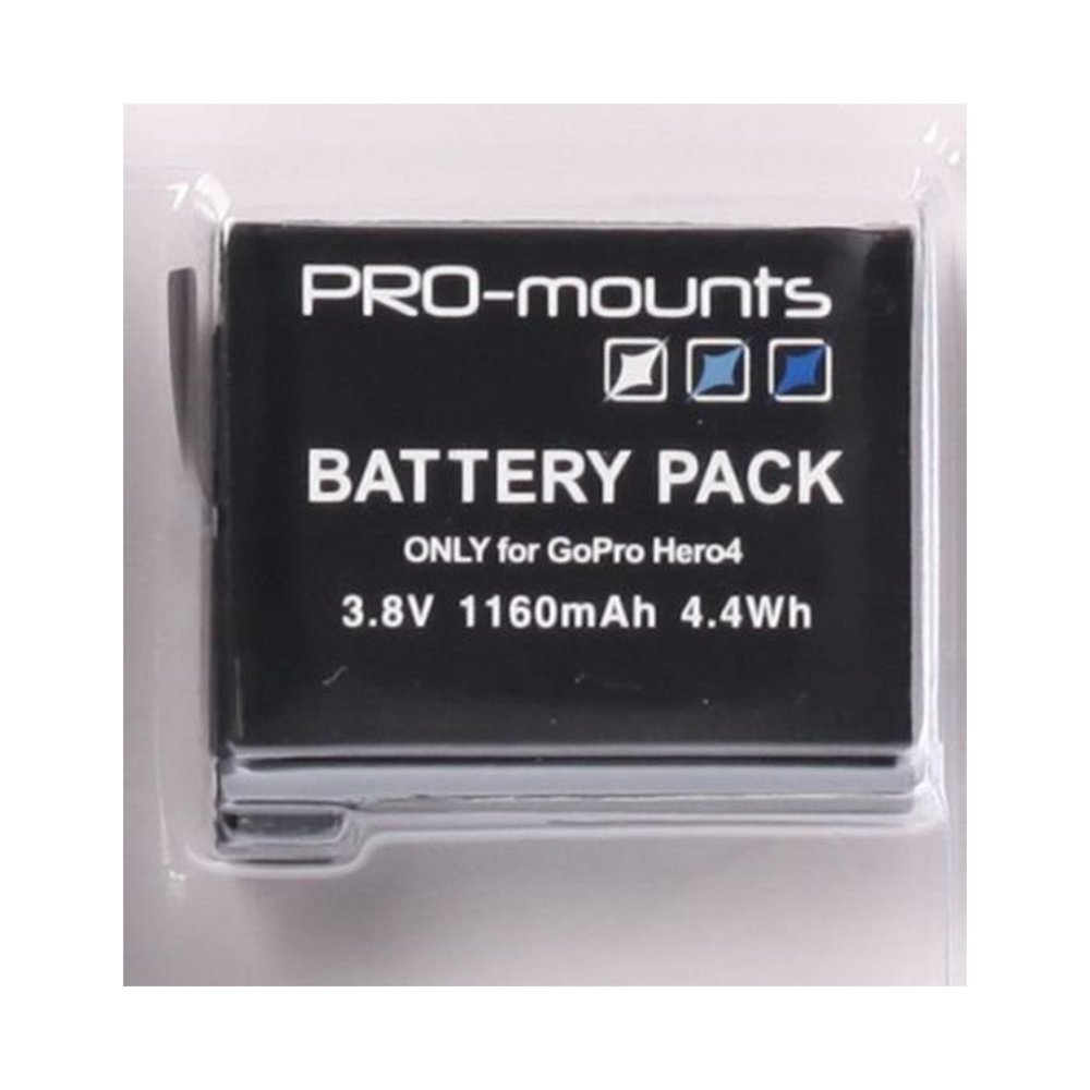 Βattery for GoPro 4 PRO-MOUNTS PM2014H401