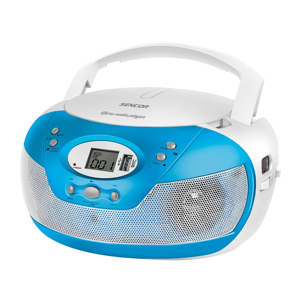 Portable radio/CD player SENCOR SPT 229 BU blue