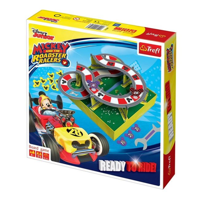 Board game TREFL Mickey & The Roadster Racers