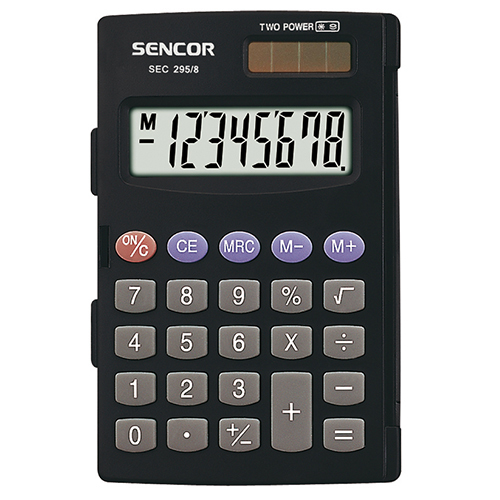 Calculator SENCOR SEC 295/8 black