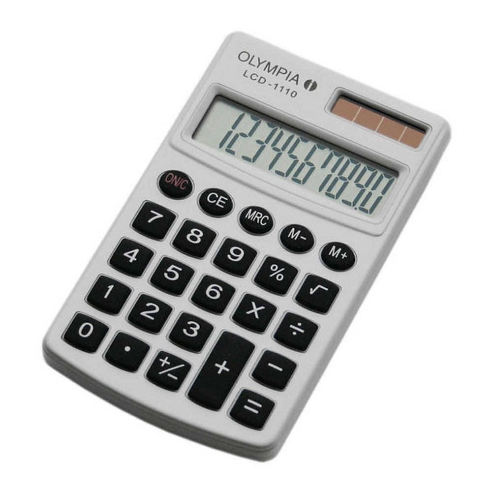 Calculator OLYMPIA LCD 1110 white