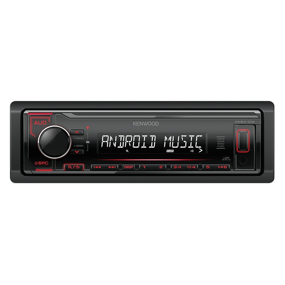 Car stereo KENWOOD KMM-104RY