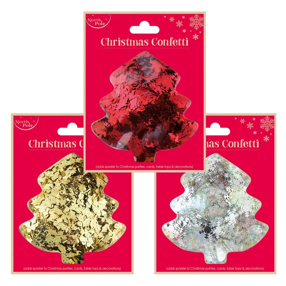 Christmas Confetti X-20394-CON red/gold/silver