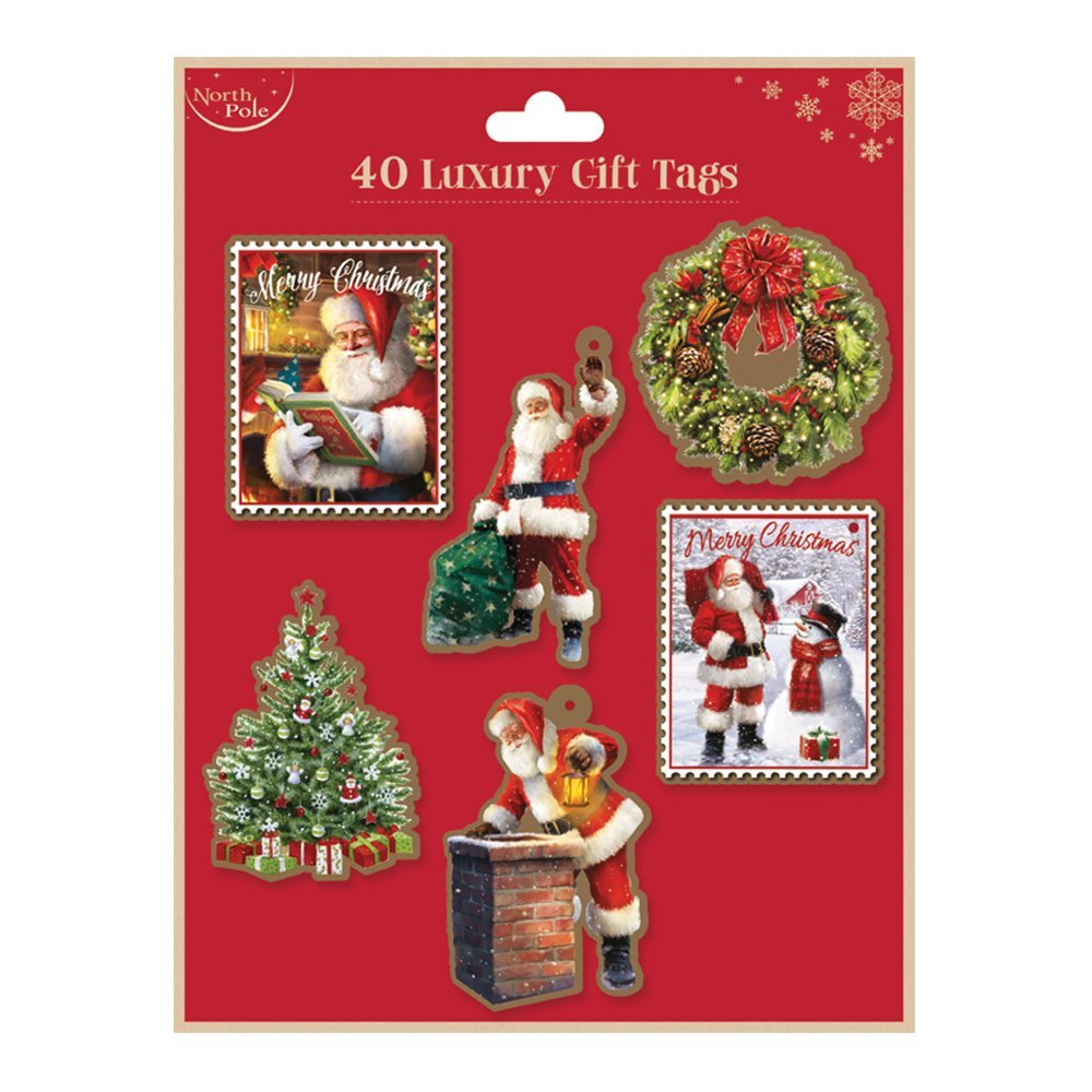 Christmas Gift Tag (Set of 40pcs) X23823-GT
