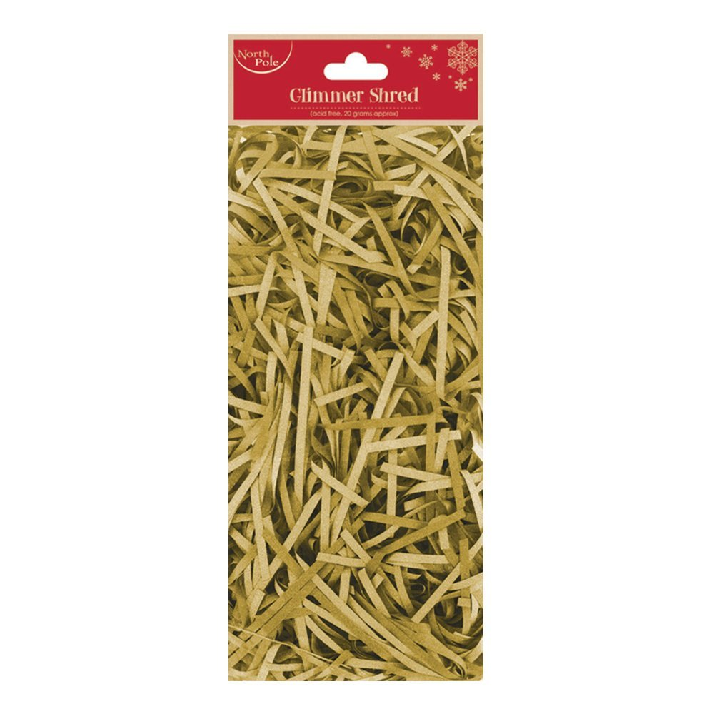 Christmas Glimmer Shred gold X-23745-G