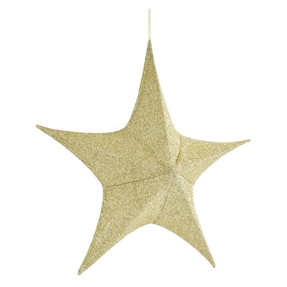 Christmas Decoration Giant Star 40cm gold 600-40806