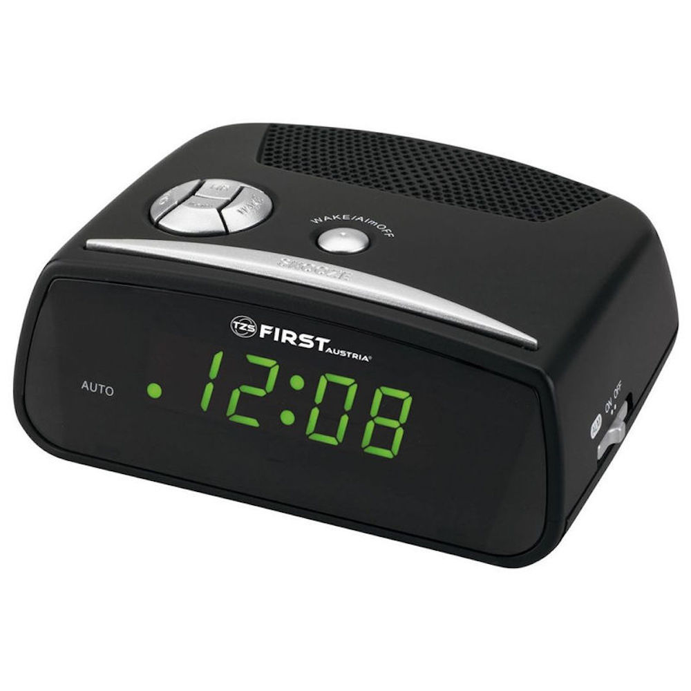 Alarm clock FIRST Austria FA2410BA black