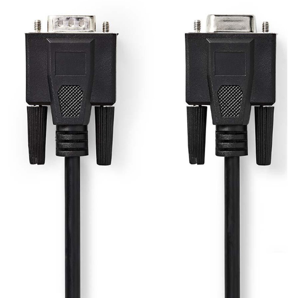 Cable VGA male/VGA male 2m NEDIS CCGB59000BK20 black