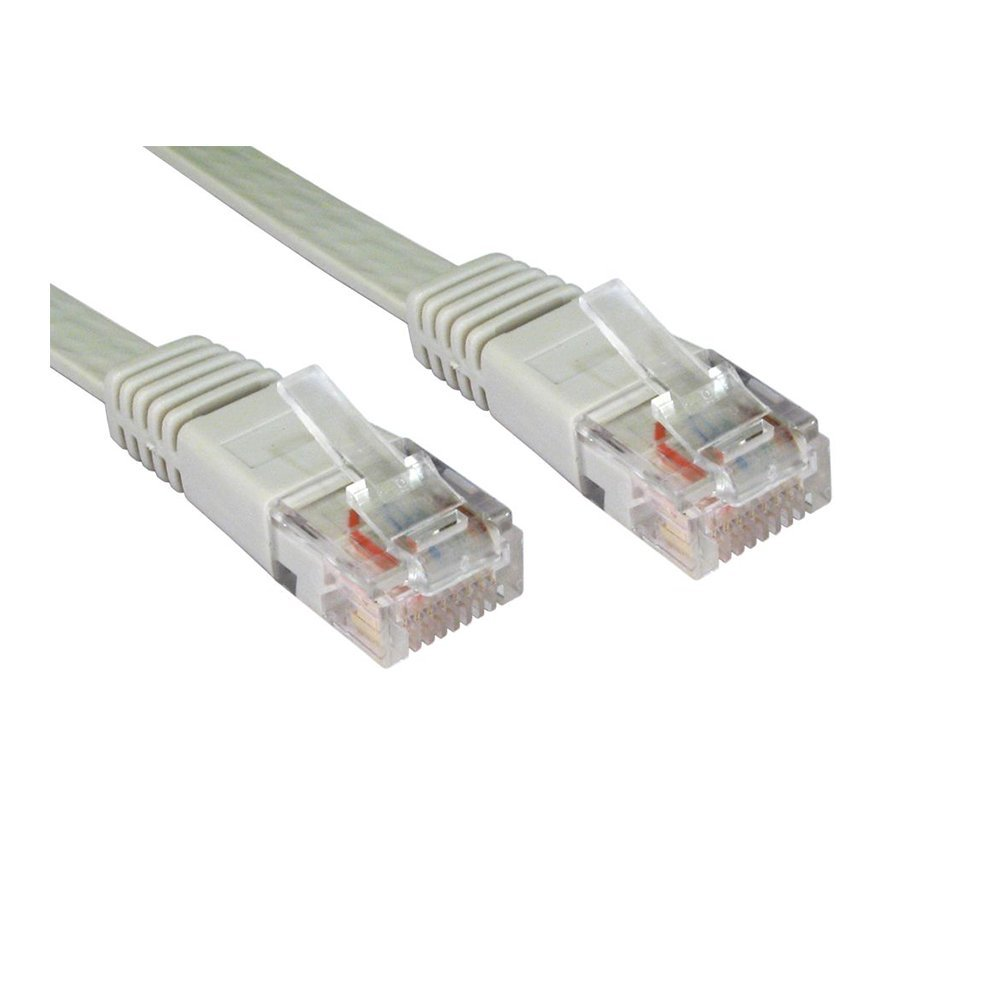 Patchcord UTP CAT5e M/M 1m ADVANCED CAT5e-UTP-1-GRY grey