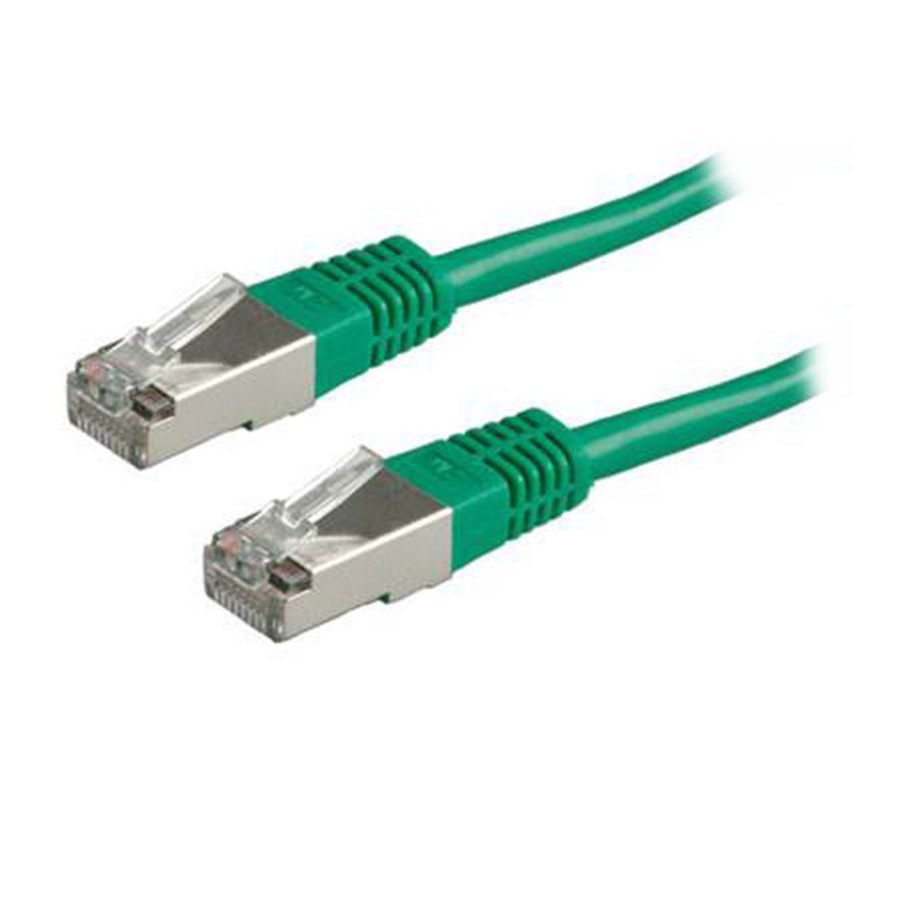 Patchcord STP CAT5e M/M 1m 21.15.0133 green