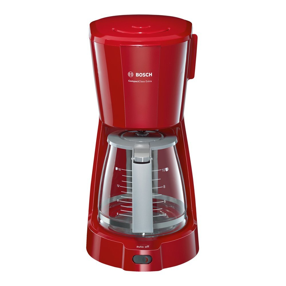 Filter coffee machine BOSCH CompactClass Extra TKA3A034 red