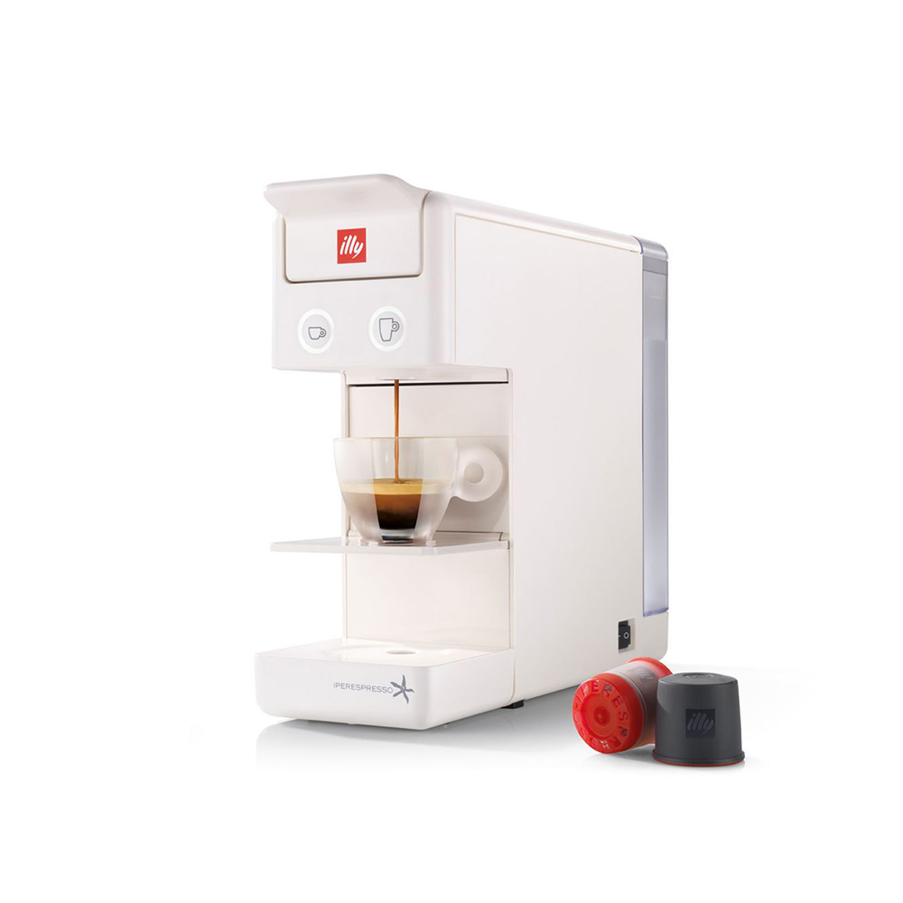Coffee machine ILLY Francis Francis Y3.2 iperEspresso white