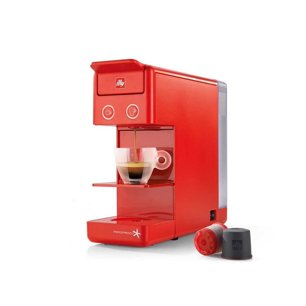Coffee machine ILLY Francis Francis Y3.2 iperEspresso red