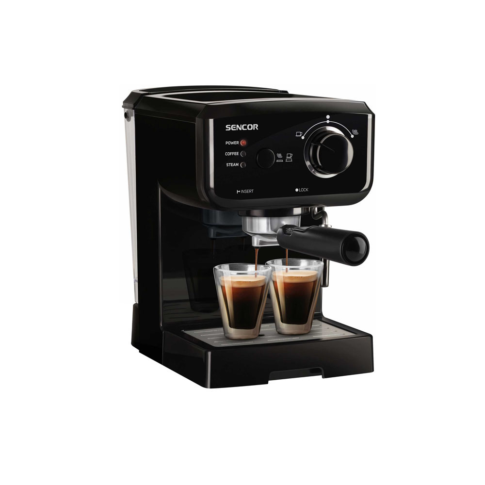 Coffee machine Espresso-Cappuccino SENCOR SES 1710BK black
