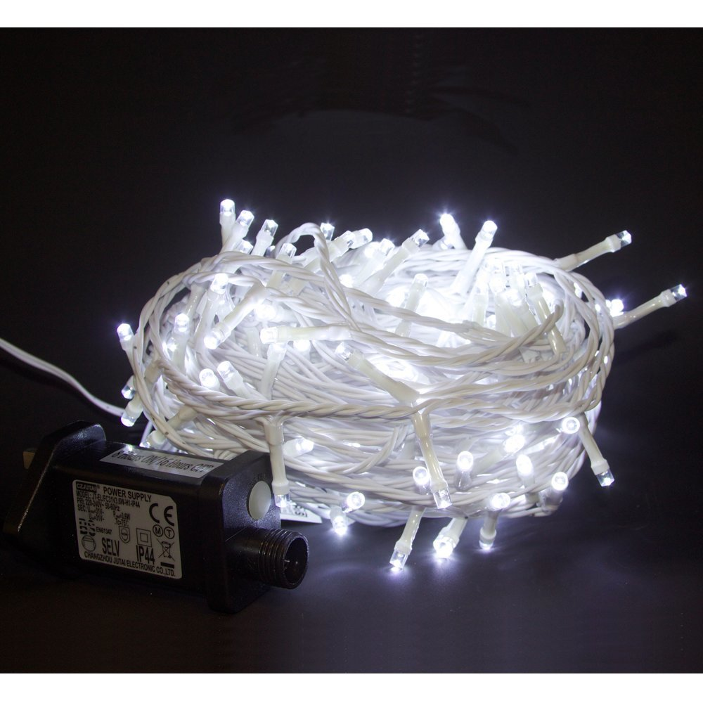 Plug-in Light String 180 LED Coolwhite 18m YL-L1180-CW