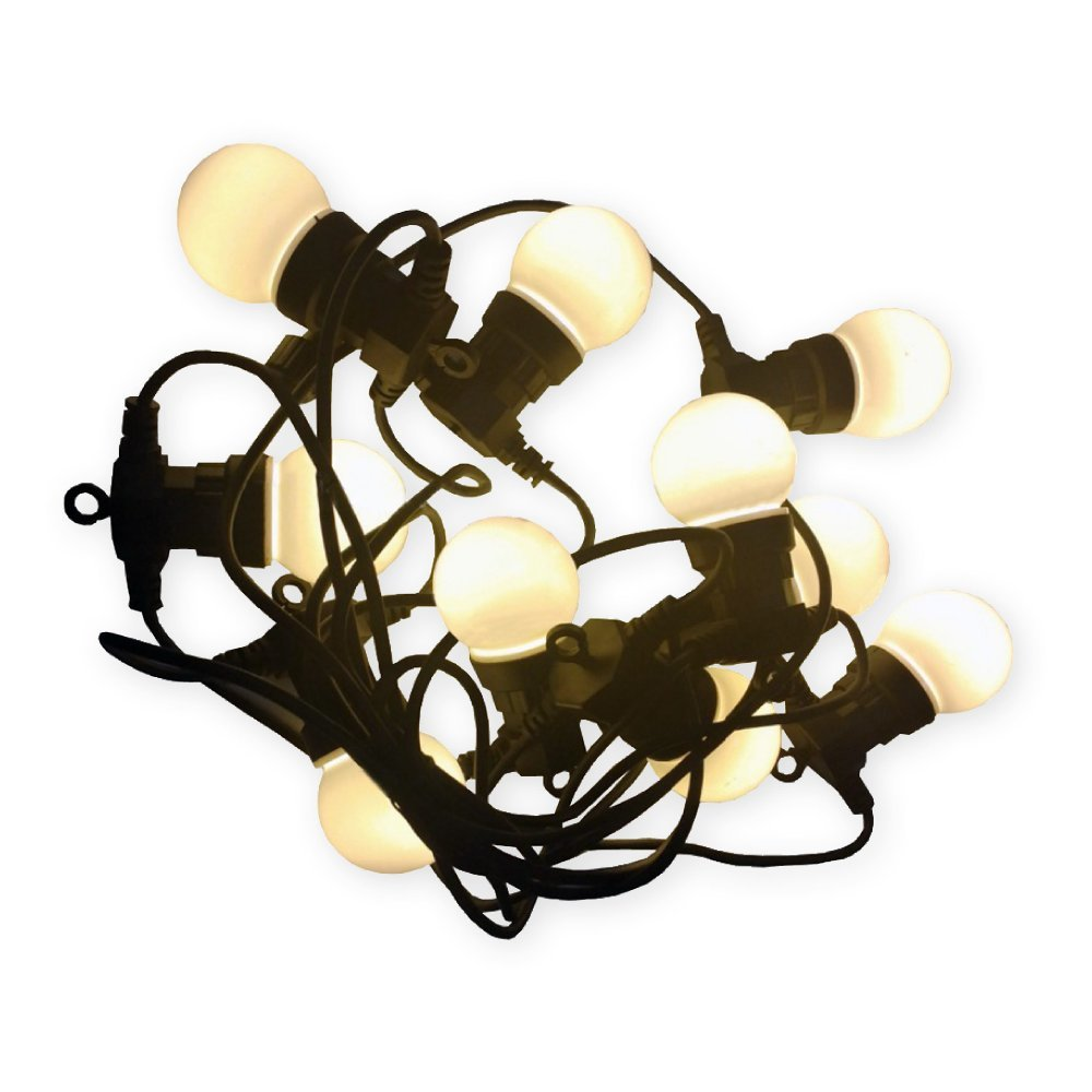 Plug-in Connectable Light String 20 LED Warmwhite 9m YL-PL1005-WW