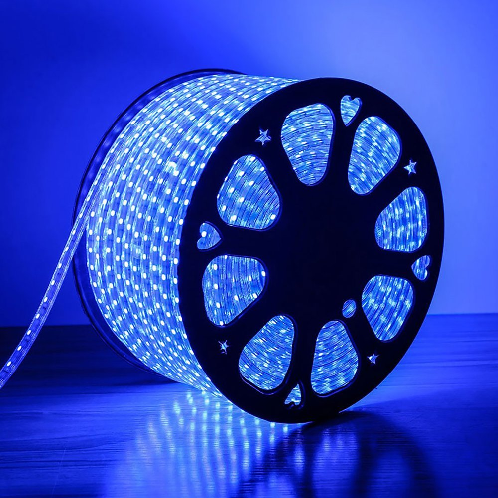 Plug-in Rope Light 13mm 2way LED blue 60207