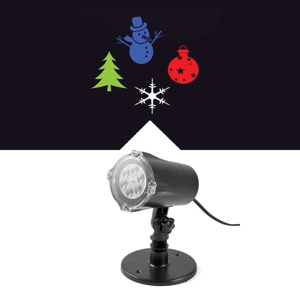 Christmas Light Projector Plug-in LED SL-MU4WXXP-E