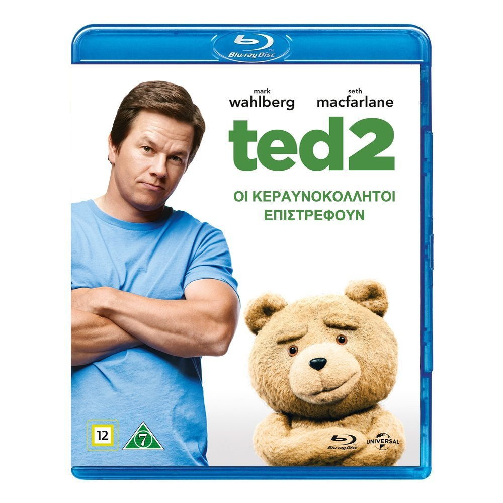 Blu-ray movie Ted 2