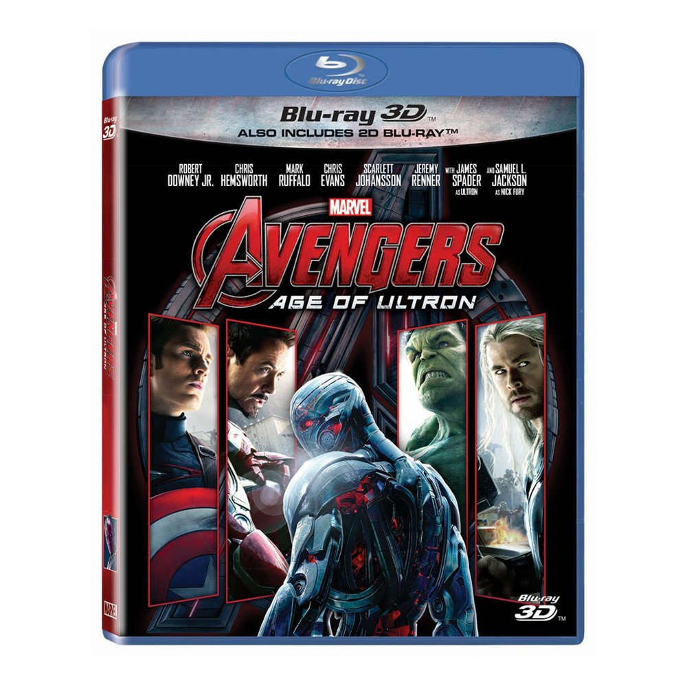 3D Blu-ray movie Avengers Age of Ultron