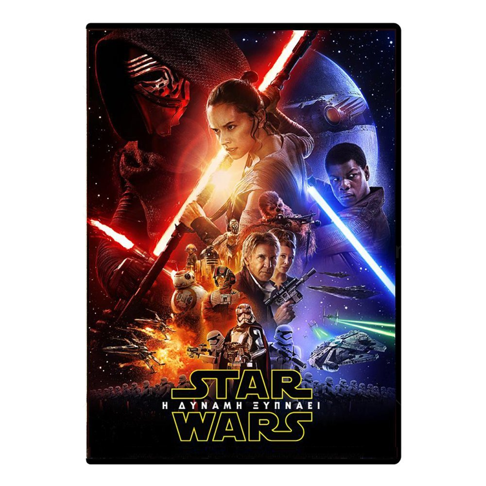DVD movie Star Wars The Force Awakens