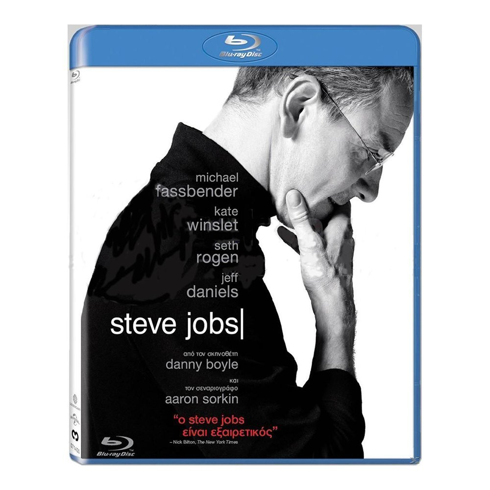 Blu-ray movie Steve Jobs
