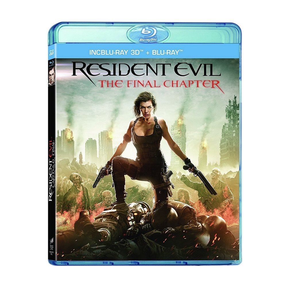 3D Blu-ray movie Resident Evil: The Final Chapter
