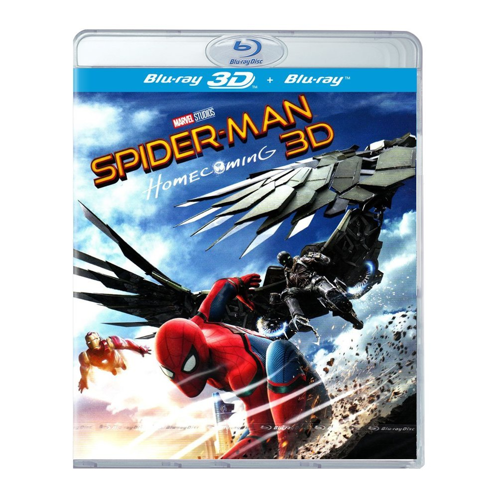 3D Blu-ray movie Spider-Man: Homecoming