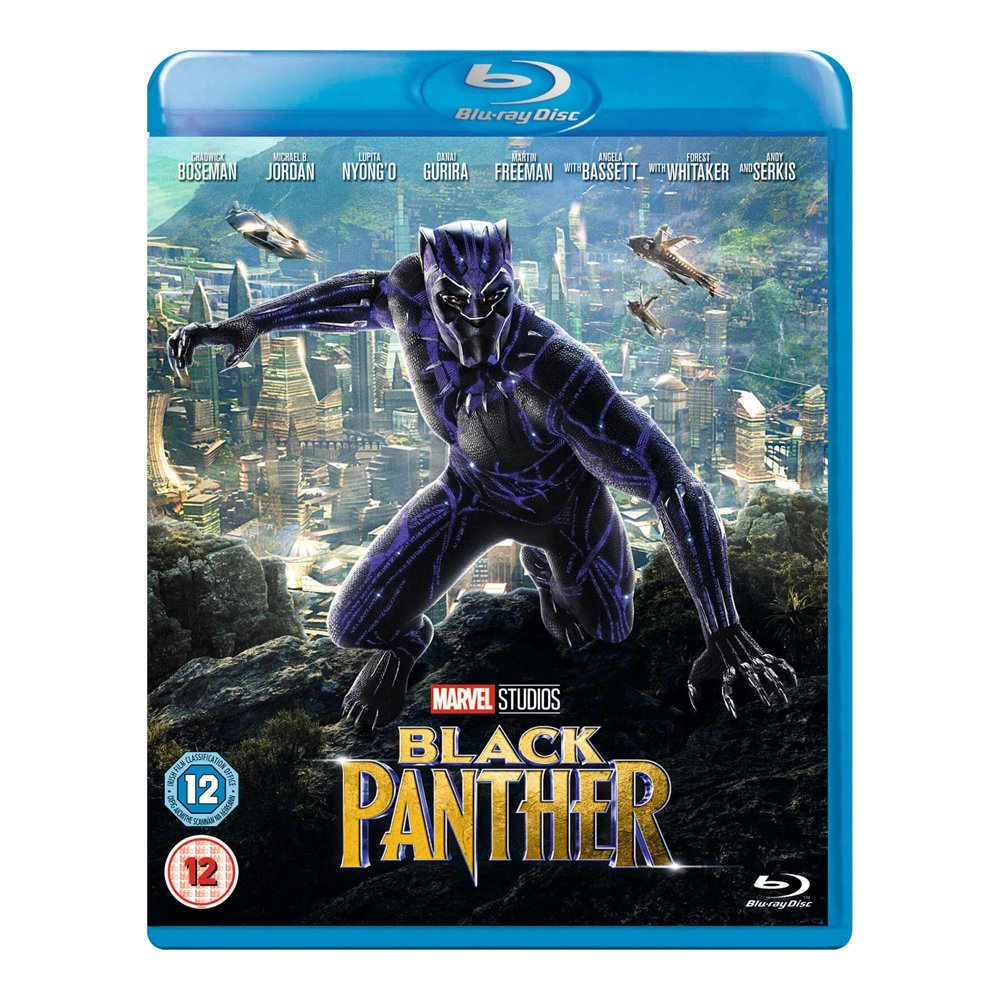 Blu-ray movie Black Panther