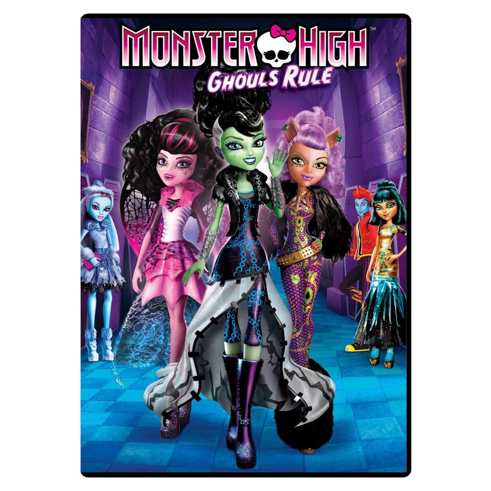 DVD movie Monster High: Ghouls Rule