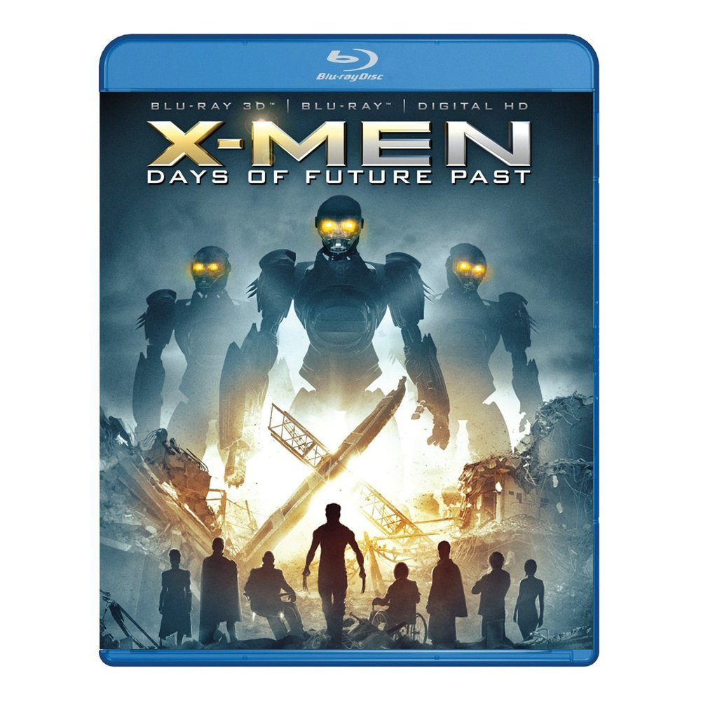 3D Blu-ray movie X-Men: Days of Future Past