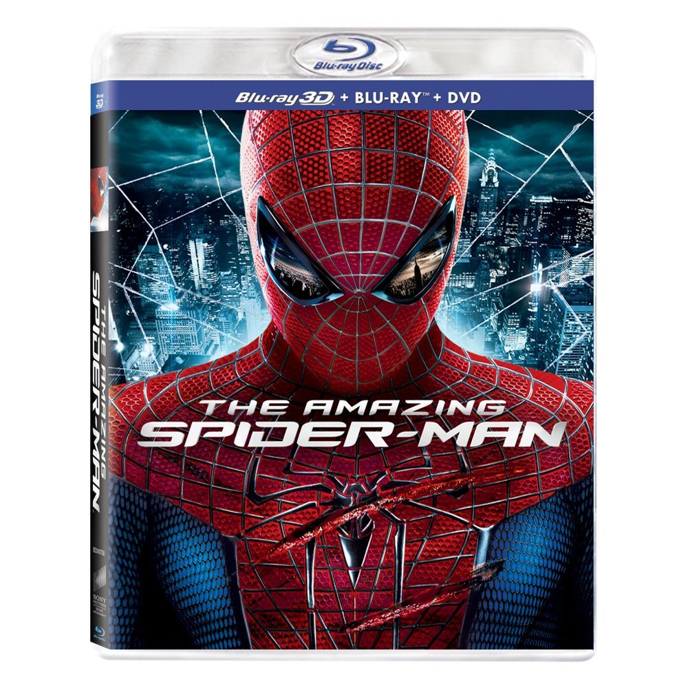 3D Blu-ray movie The Amazing Spider-Man