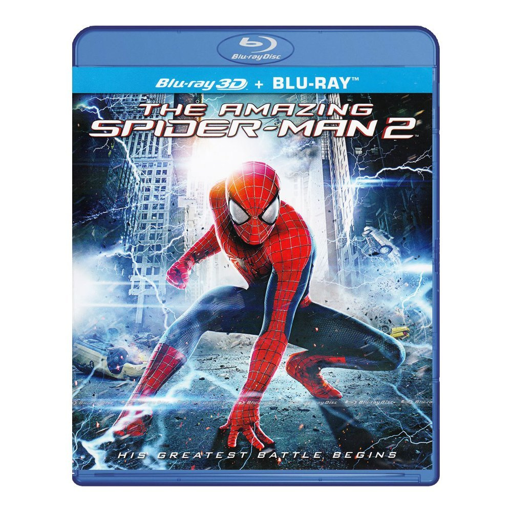 3D Blu-ray movie The Amazing Spider-Man 2