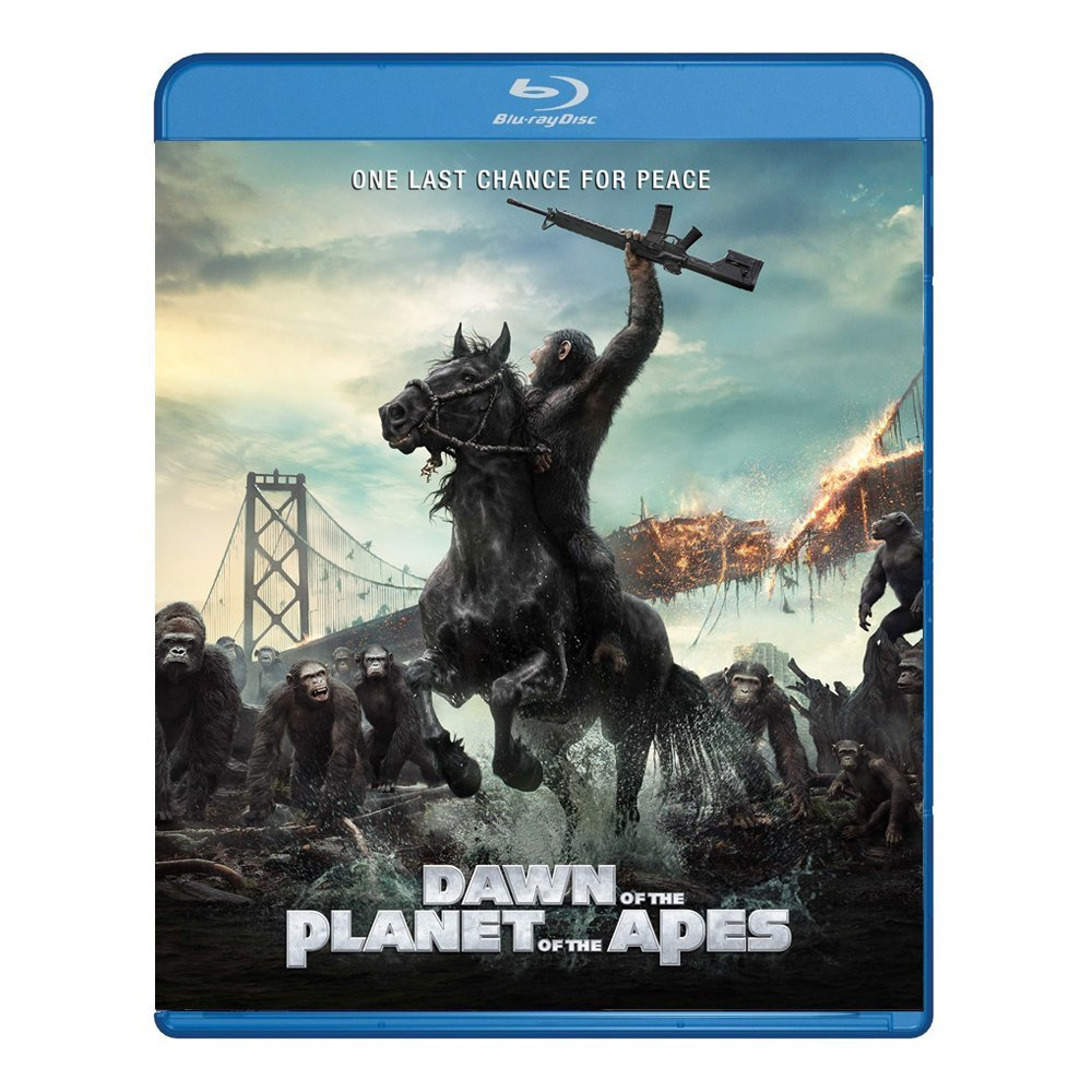 3D Blu-ray movie Dawn of The Planet of The Apes