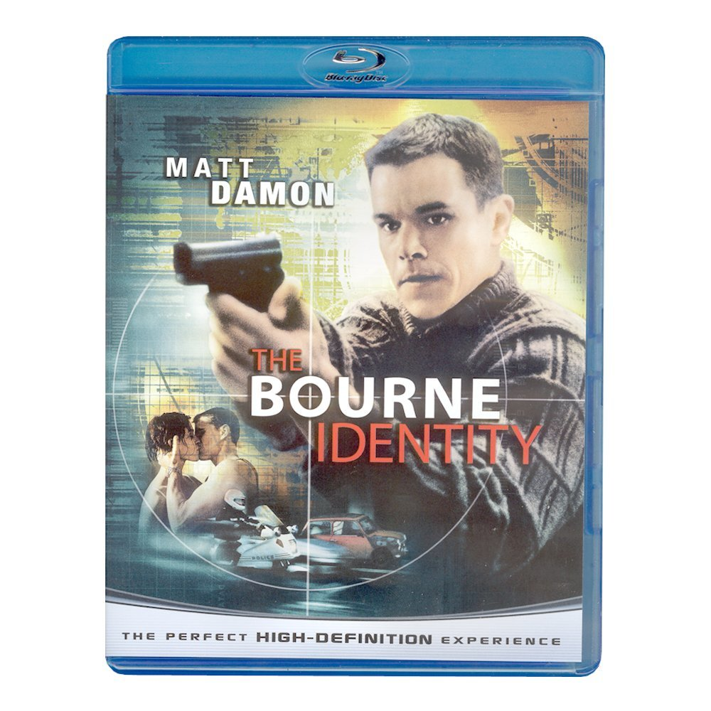 Blu-ray movie Bourne Identity