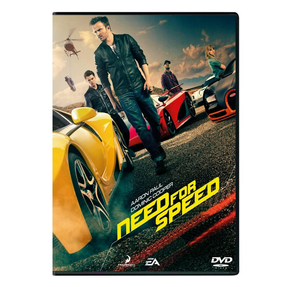DVD movie Need For Speed