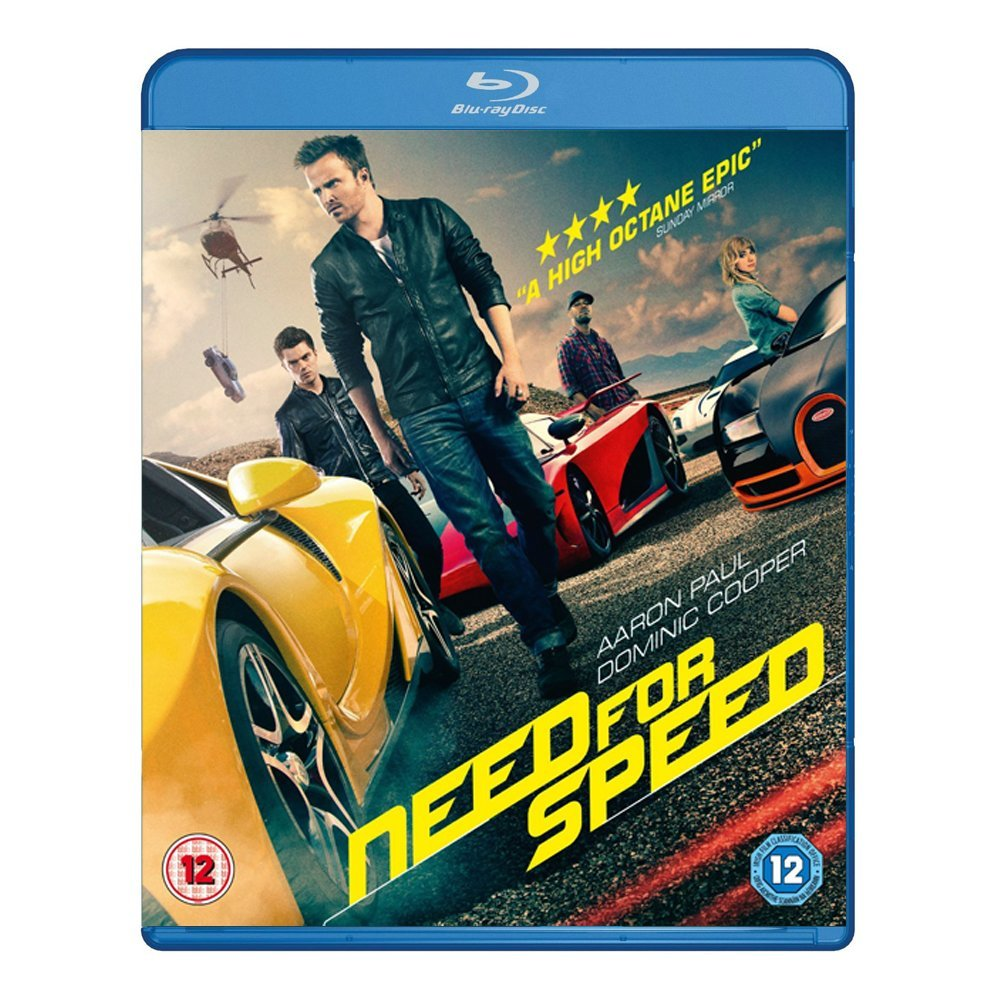 3D Blu-ray movie Need For Speed