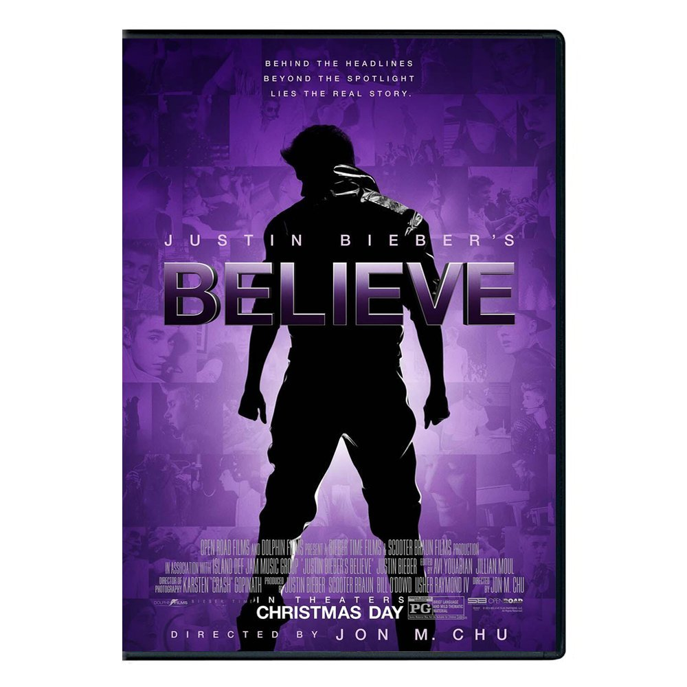 DVD movie Justin Bieber/s Believe