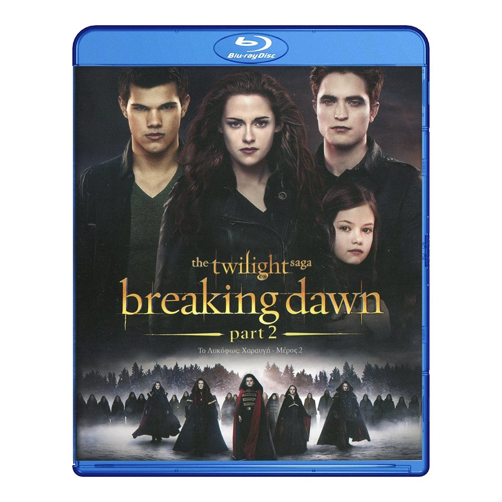 Blu-ray movie Twilight Saga: Breaking Dawn Part 2
