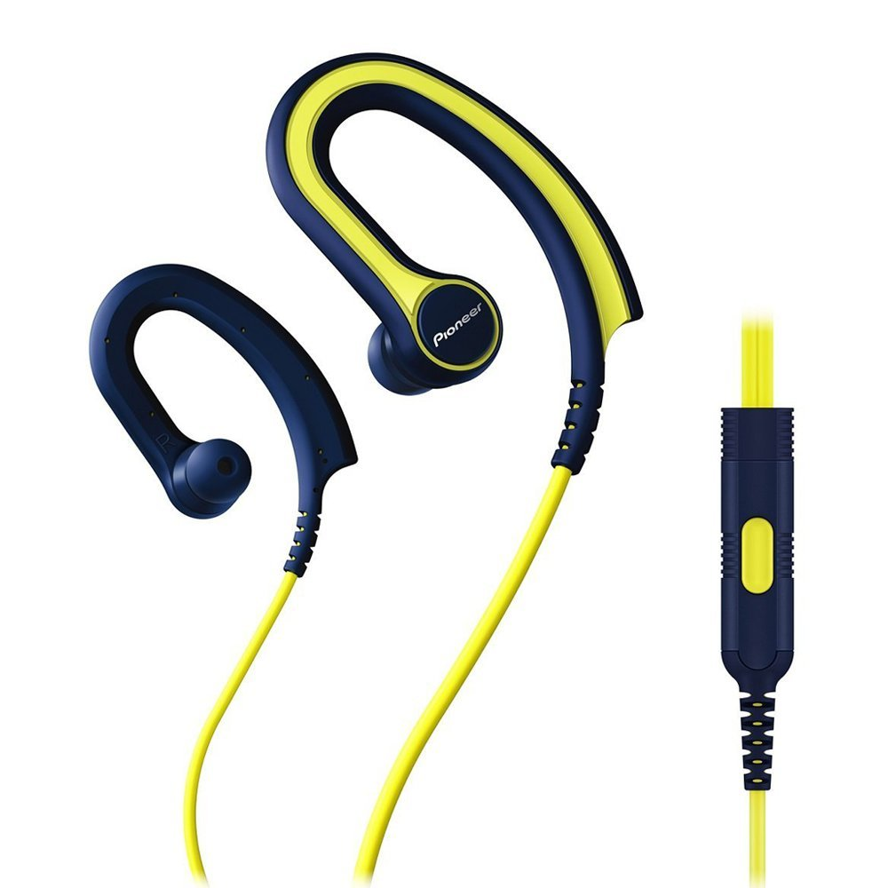 Earphones with microphone PIONEER SE-E711T-Y yellow
