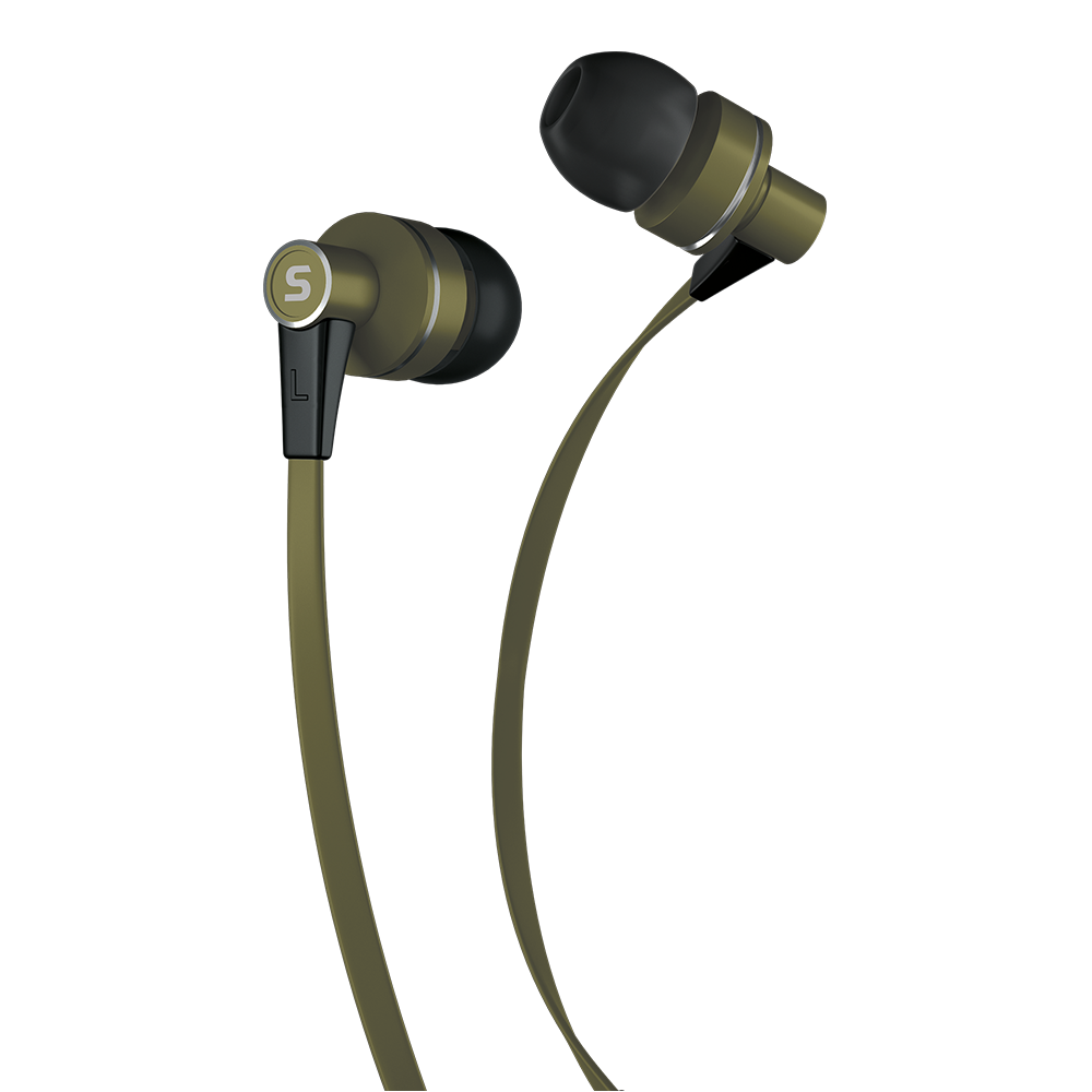 Earphones with microphone SENCOR SEP 300 khaki