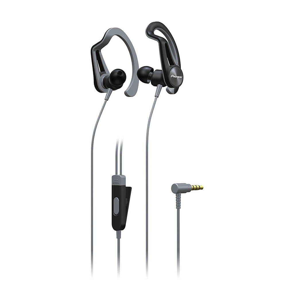 Earphones with microphone PIONEER SE-E5T-H grey