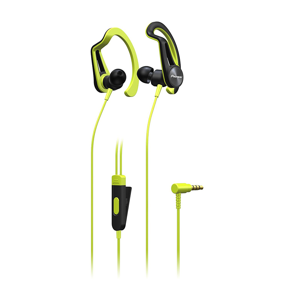 Earphones with microphone PIONEER SE-E5T-Y yellow