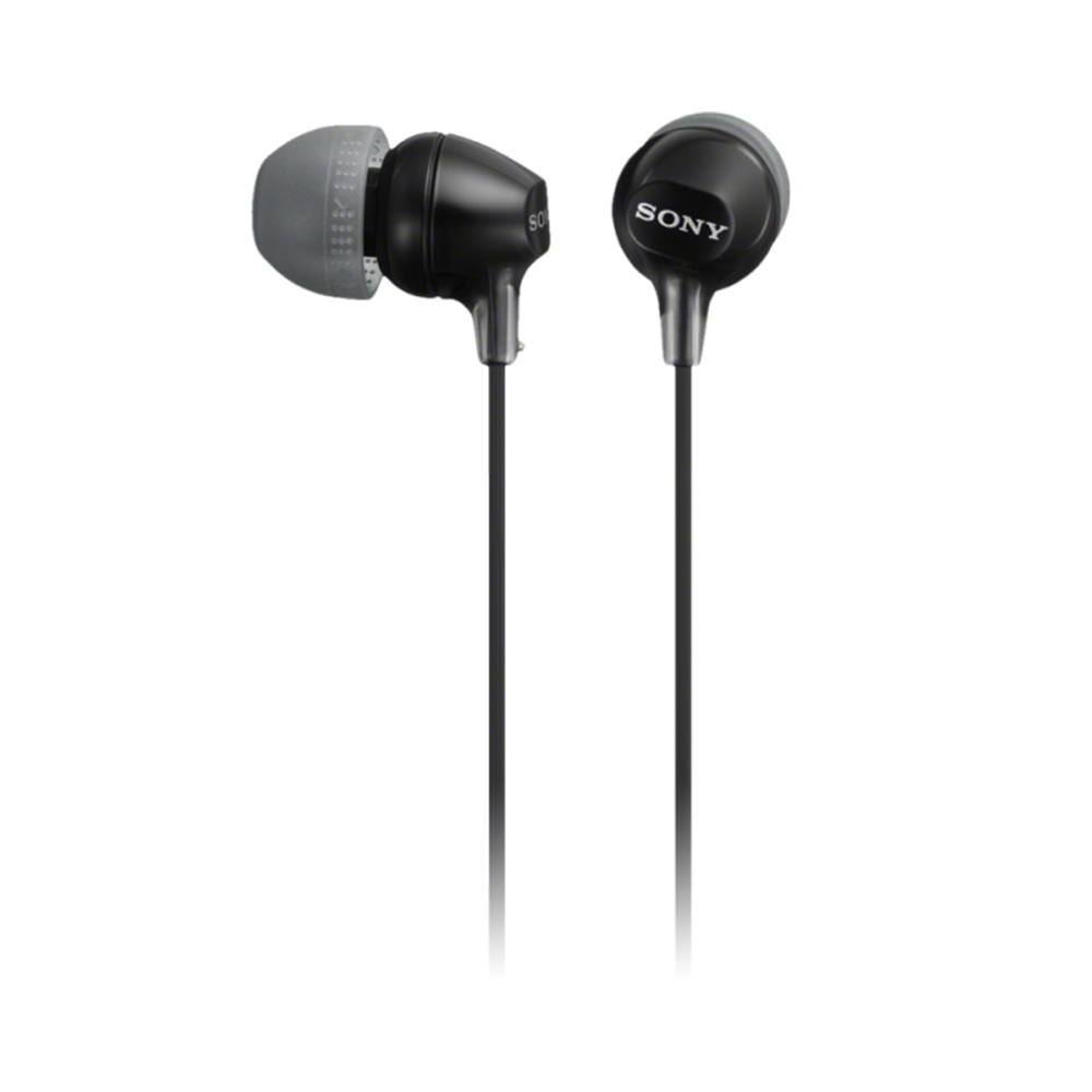 Earphones with microphone SONY MDR-EX15AP/BC black