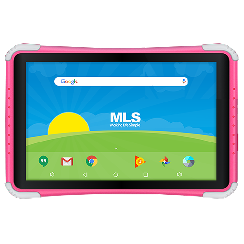 "Tablet MLS Kido 10 10.1"" 16GB ροζ"