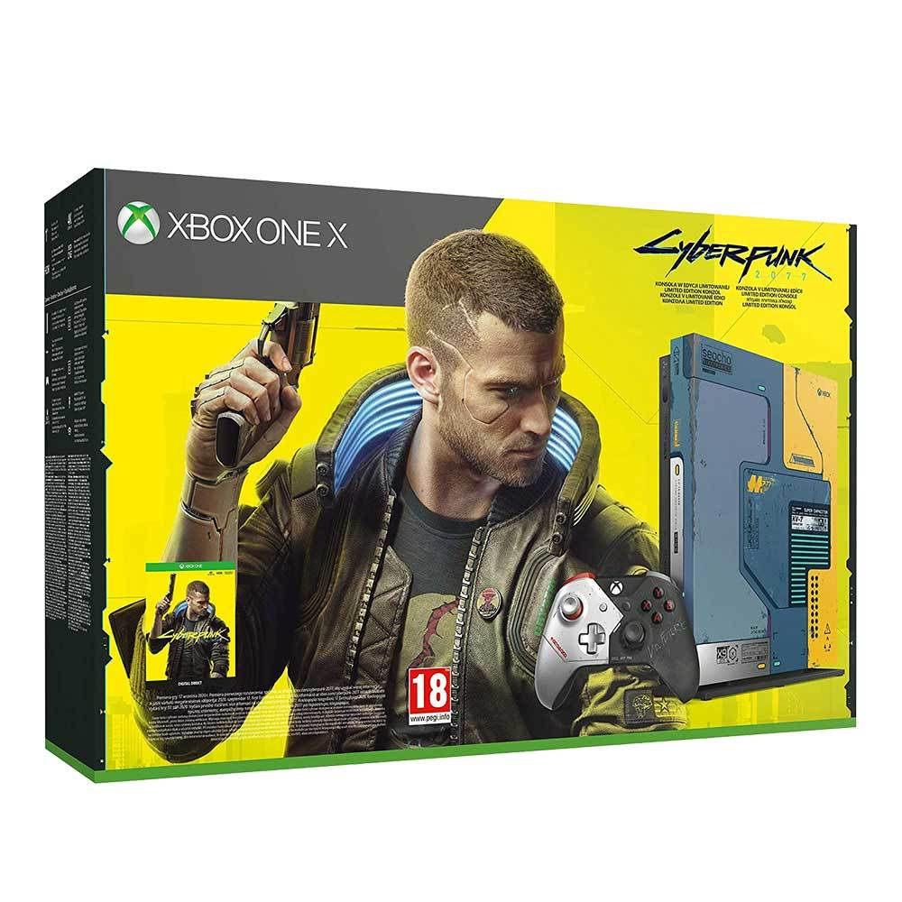 Κονσόλα Xbox One X 1TB Cyberpunk 2077 Limited edition